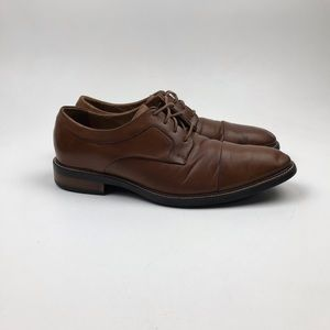 Cole Haan Warren Cap Toe British Leather Oxfords